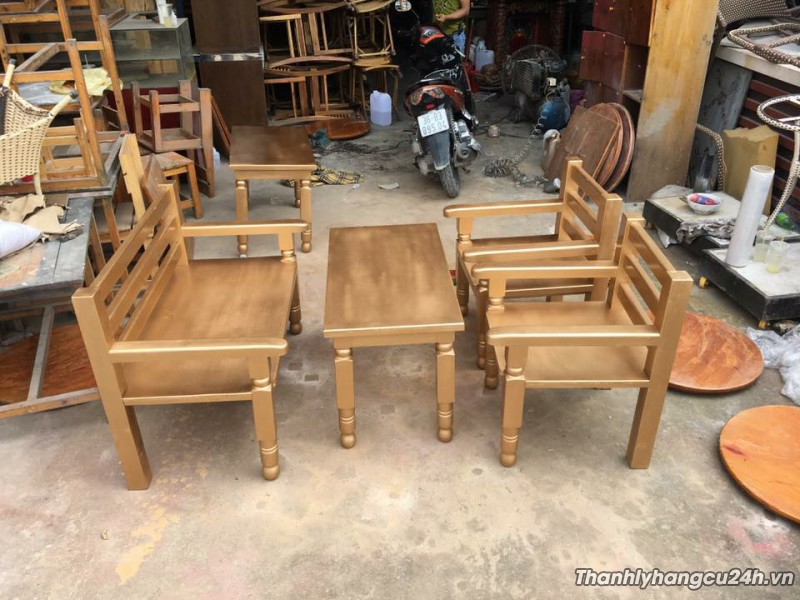 Bàn ghế cafe giá rẻ hcm