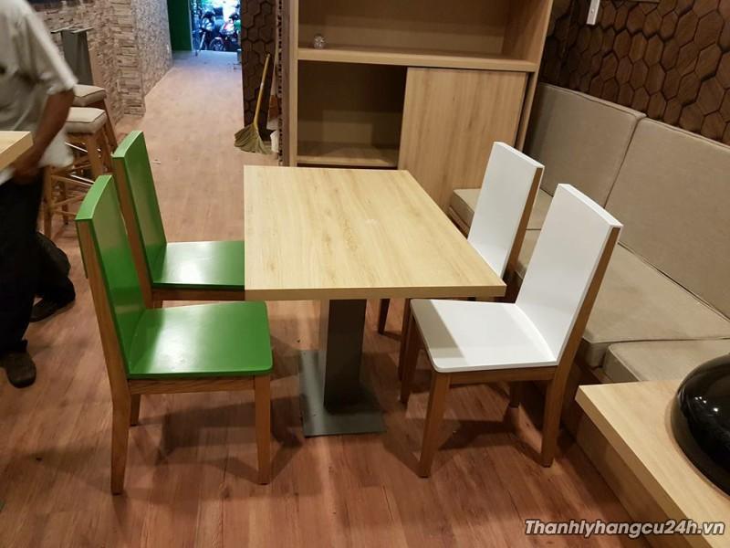 Bàn ghế cafe kiểu mới thanh lý
