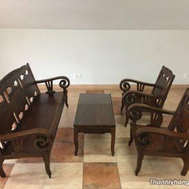 Bàn ghế gỗ cẩm lai thanh lý