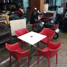 Ghế nhựa cafe thanh lý