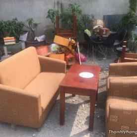 Ghế sofa cafe thanh lý giá rẻ