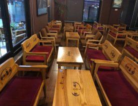 bàn ghế cafee