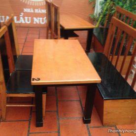 bàn ghế cafe kiểu mới