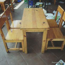 Thanh lý bàn ghế cafe kiểu đơn giản