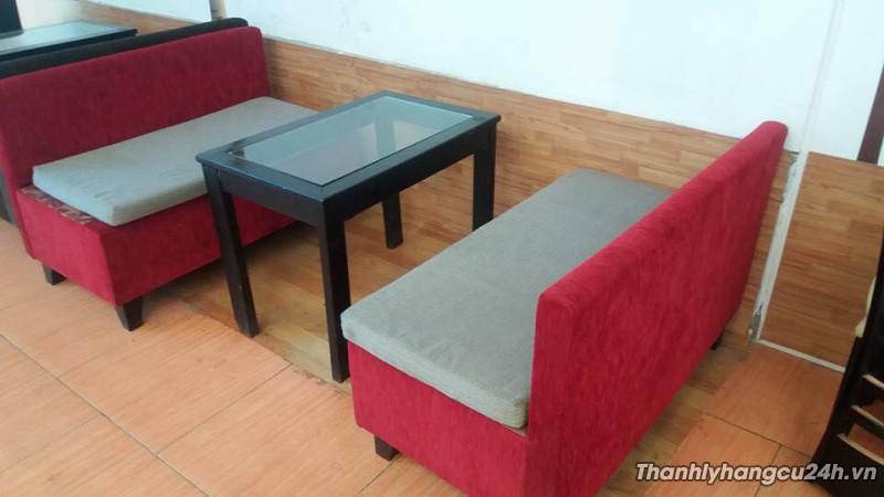 Thanh lý bàn ghế sofa cafe