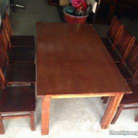 bàn nhà hàng 8 ghế