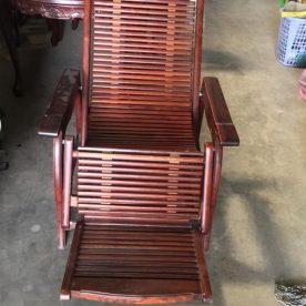 Thanh lý ghế lười gỗ cẩm lai